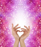 Sign Language for a Special Love Stock Images