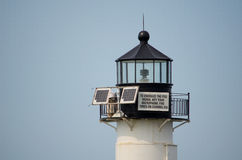 Lighthouse information Royalty Free Stock Photography