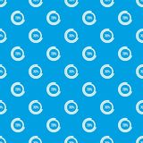 Sign 70 load pattern seamless blue. Sign 70 load pattern repeat seamless in blue color for any design. Vector geometric illustration Royalty Free Stock Photo