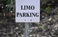 Limo Parking Royalty Free Stock Photo