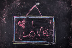 Sign of love Royalty Free Stock Images