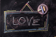 Sign of love Stock Images