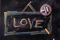 Sign of love Royalty Free Stock Photos