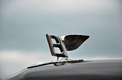 Sign on the luxury car Stock Photos