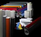 Sign making materials Royalty Free Stock Photography
