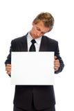 Sign man Stock Photo