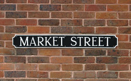 Free Sign, Market Street Stock Images - 91594