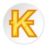Sign of money lao kip icon, cartoon style Stock Photos