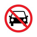 No parking sign. Vector illustration vector illustration