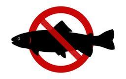 Sign: No fishing Stock Photos