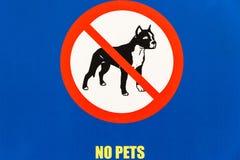 Sign NO PETS Dog Public Illustration Drawing. Public board notice sign NO PETS DOG yellow words illustration drawing closeup royalty free stock image