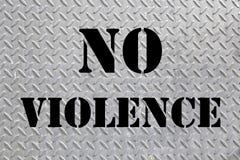 Sign non violence Stock Photos