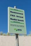 Sign Nudist Beach Stock Photos