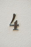 Sign Number four Royalty Free Stock Image