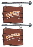 Sign: Open/closed Stock Photos