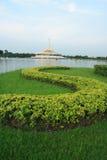 Sign Park Suan Luang Rama IX stock photo