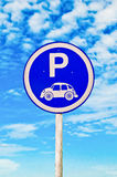 The Sign park of volkswagen Royalty Free Stock Image