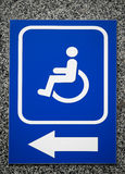 The sign Parking Space or Building entrance with Stock Image