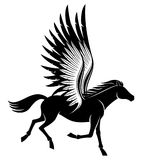 Sign of pegasus. Royalty Free Stock Images