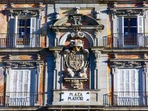 Sign of Plaza Mayor Square Royalty Free Stock Photography