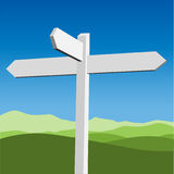 Sign Post Royalty Free Stock Photography