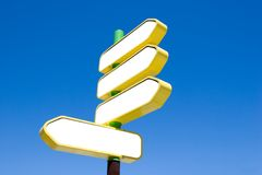 Sign Post Royalty Free Stock Photos