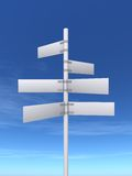 Sign Post Royalty Free Stock Photo
