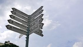 Sign post Royalty Free Stock Image