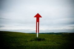 Sign Post Up Royalty Free Stock Photography