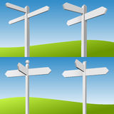 Sign Posts Stock Photo