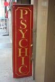 Sign psíquico Fotografía de archivo