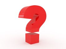 Sign a question Royalty Free Stock Photo
