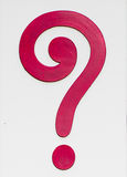 Sign of question mark Royalty Free Stock Photo