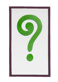 Sign of question mark Royalty Free Stock Photos
