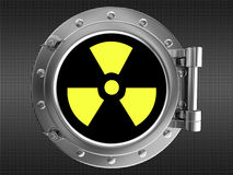 Sign of radiation Stock Photography
