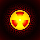 Sign of radiation Royalty Free Stock Image