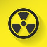 Sign Radiation Stock Photography