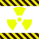 Sign of radioactivity Royalty Free Stock Image