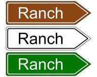 Sign ranch Stock Photos