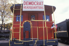 A sign that reads �Democrat Headquarters� Stock Images