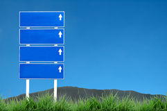 Sign road Stock Image