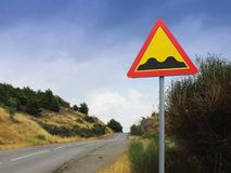 The sign on the road Royalty Free Stock Image