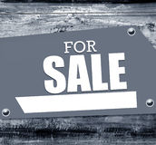 Sign for sale Stock Images