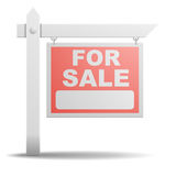 Sign For Sale Stock Photography