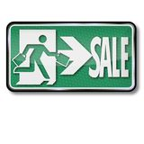 Sign with sale Stock Photography