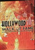 Sign saying HOLLYWOOD WALK OF FAME. With stars Stock Image