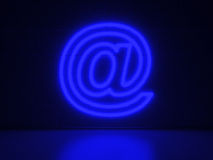 @ sign- Series Neon Signs Stock Photography
