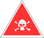 Sign skull Stock Images