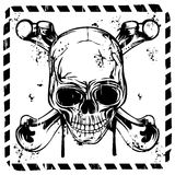 Sign skull and bones Stock Photo