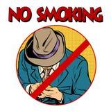 Sign Smoking ban Stock Photography